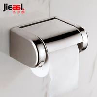 Stainless Steel Toilet Paper Holder Toilets Roll Holders Toilet Rack Metal Paper Holder Wall Mounted for Bathroom Tissue Box K25