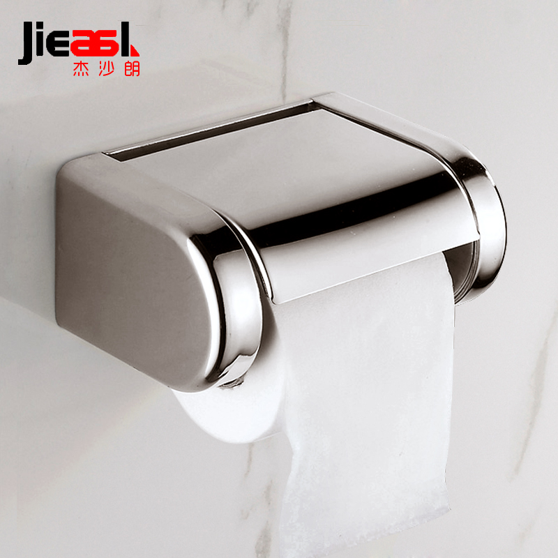 Stainless Steel Toilet Paper Holder Toilets Roll Holders Toilet Rack Metal Paper Holder Wall Mounted for Bathroom Tissue Box K25 stainless steel toilet tissue roll box wall mounted bathroom paper holder sturdy practical and user friendly