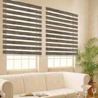 Free shipping zebra blinds roller up down shades