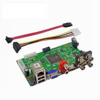 1080P/1080N 5in1 IP AHD CVI TVI CVBS 4CH CCTV DVR board support Motion Detection Surveillance Video Recorde Main board
