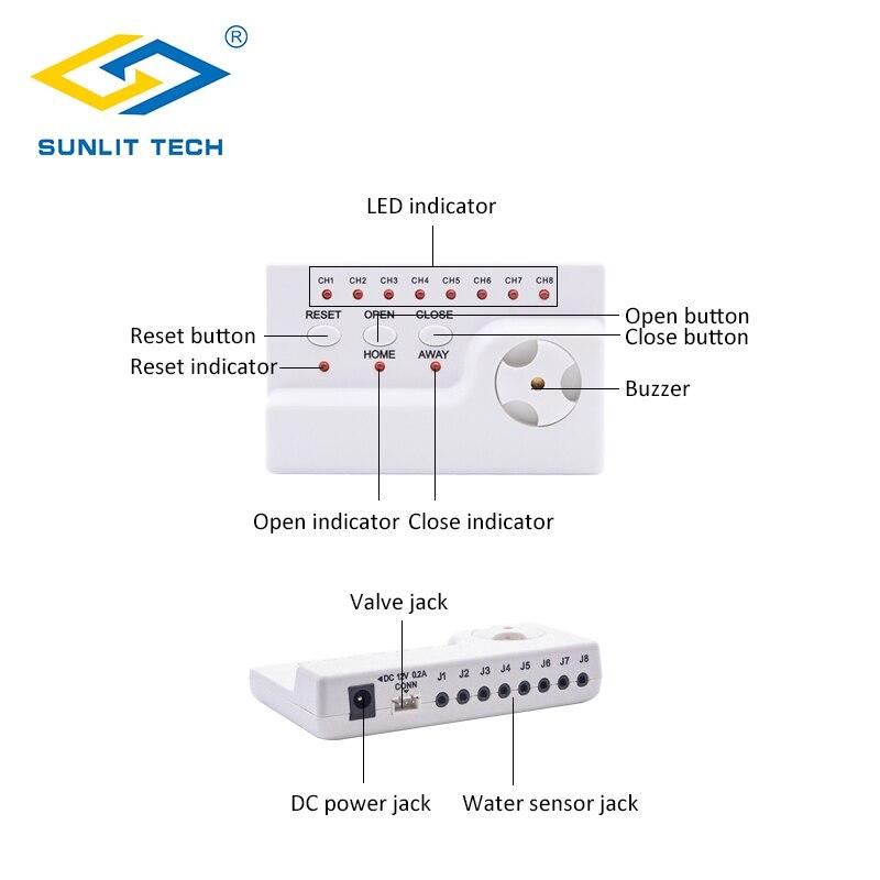 Water Lekkage Alarm Detector 100dB Water Alarm Lek Sensor Detectie Flood Alert Overloop Thuis Smart Waterlek Beveiligingssysteem - 3