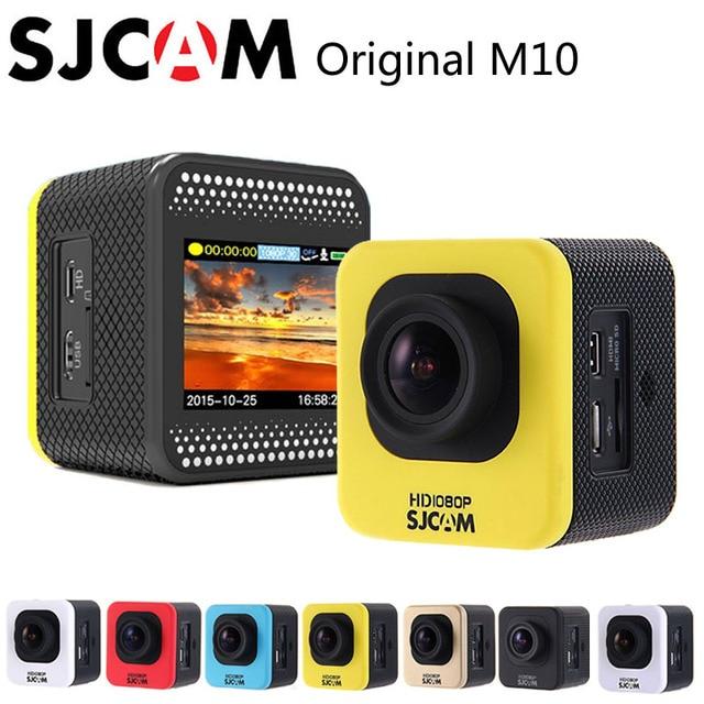 """Original SJCAM M10 Esporte Action Camera HD 1080 P H.264 1.5 """"LCD 12MP CMOS Mini DV 30 M À Prova D' Água Câmera DVR Cam"""