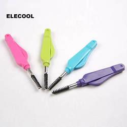 ELECOOL 1 шт. бровей Макияж Кисти для бровей Eyeshaow тушь составляют кисти сепаратор косметические средства для макияжа