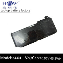 цена на laptop battery for Apple for Macbook MC375ll/A MB985ll/A MC118 A1331 661-5391 for Macbook Unibody 13