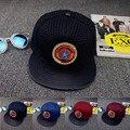 Primavera tampão do algodão boné de beisebol snapback chapéu do verão cap la hip Capitão América Cap Hop Chapéus Para Homens Mulheres casal de couro NY chapéus
