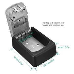Image 4 - ORIA 4 Digit Combination Durable Key Storage Lock Box Wall Mounted Safety Key Lock Box Large Storage Capacity