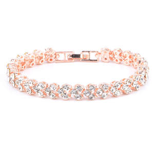 Bracelets Armband Gifts Crystal Roman-Style Women Ladies New-Fashion for Chic Chic