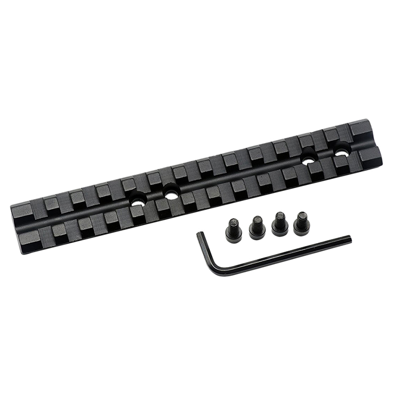 "Hunting Accessories 5.5"" 140mm Weaver Picatinny 20mm Rail Scope Rifle Gun Mount Base 13 Slot Military Gear Equipment"