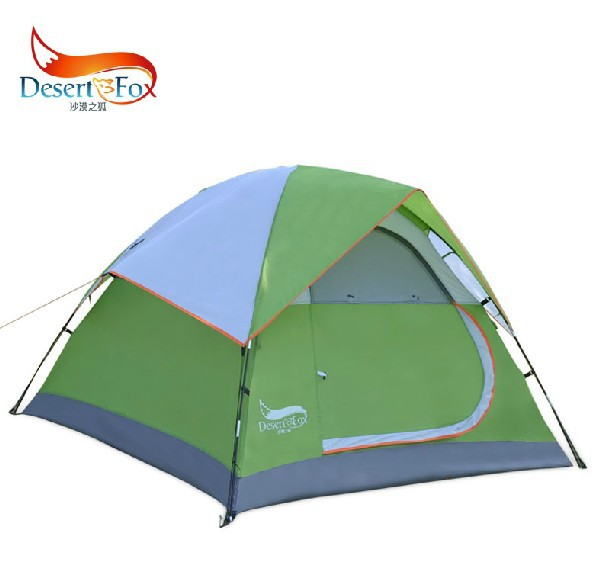 Camping Tent High Quality Waterproof Fiberglass Double Layer 3-4 Outdoor Pop up Hiking Automatic Beach Tents 2 person 2014 New 2014shepherd 3 4 people double deck high quality outdoor camping tent