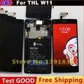 New Original THL W11 Display LCD + Digitador Touch Screen Vidro De Substituição + Ferramenta + Frete Grátis