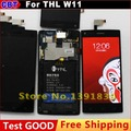 New Original THL W11 LCD Display + Digitizer Touch Screen Replacement Glass +Tool + Free Shipping