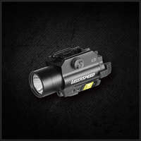 LASERSPEED LS CL2 R Red Beam Laser Sight Tactical Flashlight Combo For Pistol With Strobe Light
