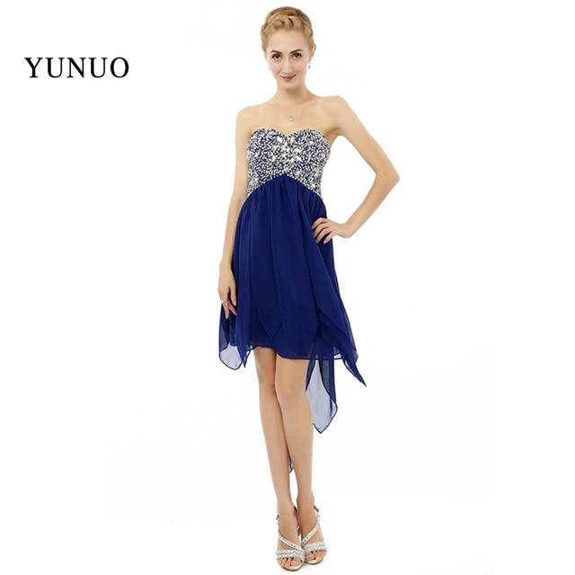 High Quality new design Sweetheart party women Dresses Dark Blue ...