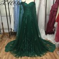 Real Picture Green Prom Dresses 2016 With Cape Off The Shoulder A-Line Bridesmaid Dresses Wedding Party Dresses Zipper Back
