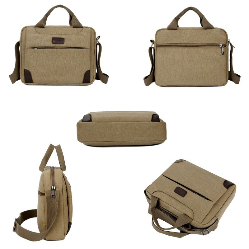 Canvas Crossbody Hiking Military Messenger Sling Shoulder Bag Satchel Bags