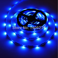 blue LED Strip 5M 3528SMD 12V 2A Power Adapter led fita lumiere Home Decoration Lamps Christmas