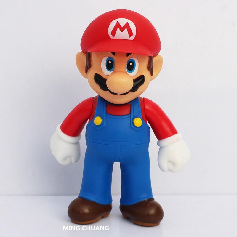 Super Mario Bros Tuba Mario Ruby Luigi Mario PVC 45CM Action Figure Collectible Model Toy OPP D556