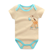 3pieces/lot Baby Bodysuits Baby Boy Clothes Cotton Body Bebes Newborn Baby Boys Girl Bodysuit Next Baby Clothing Set Jumpsuits