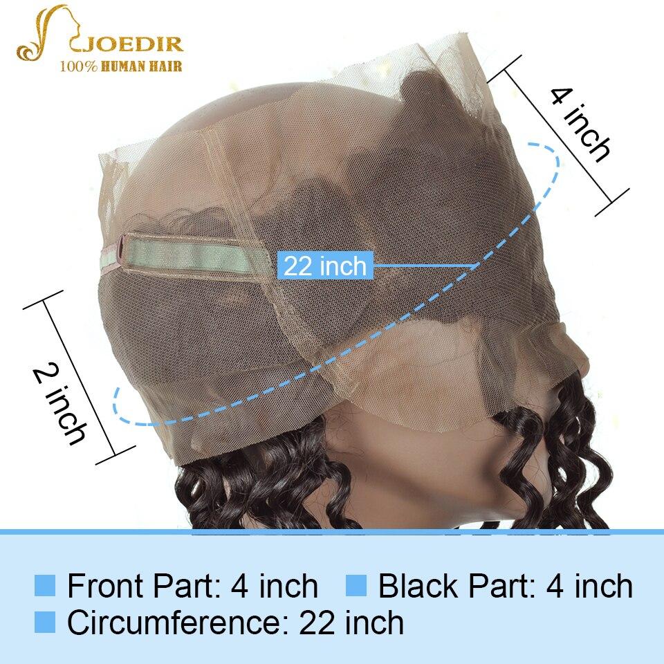 Joedir Hair Deep Wave 360 Snörning Frontal Closure With - Skönhet och hälsa - Foto 5