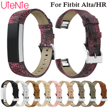 smooth real leather band For Fitbit Alta smart watch frontier/classic replacement strap For Fitbit Alta HR wristband accessories silicone band for fitbit alta watch band soft strap small large size replacement wristband for fitbit alta hr smart watch