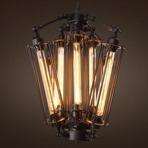 Outstockvintage американский стиль RH Lofts подвесной светильник в стиле стимпанк промышленная металлическая подвесная трубка лампа кофейная бар ресторанное освещение