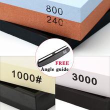 ФОТО GRINDER Household Double-sided Whetstone 1000 Professional Knife Sharpener 800/240 Grit Grinding Stone TAIDEA