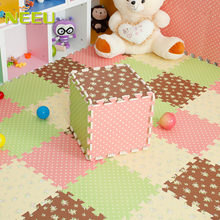 Brand New Eva Foam Baby Sport Play Mat Children Room Carpet Game Playmat Crawling pad baby crawls cushion mattress 30*30*1cm