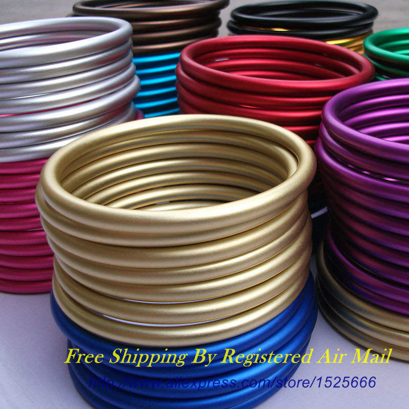 Free Shipping 10pcs/5pairs 3 Large Size Coloured Aluminium Sling Rings Making Your Baby Carrier free shipping 10pcs ad7825br page 3