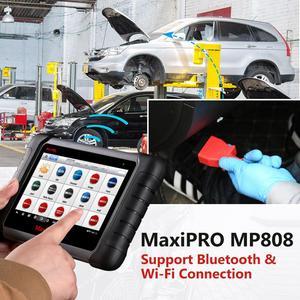 Image 2 - Autel MaxiPRO MP808 Diagnose Scanner Werkzeug OBD2 Scanner OBDII Automotive werkzeuge wie MAXIDAS DS808 MaxiSys MS906 Update von DS708
