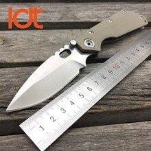 Couteaux de Camping tactiques, couteau pliant LDT SMF lame 7Cr17Mov manche G10 couteaux de Camping militaires couteau de chasse de poche de survie outil EDC extérieur