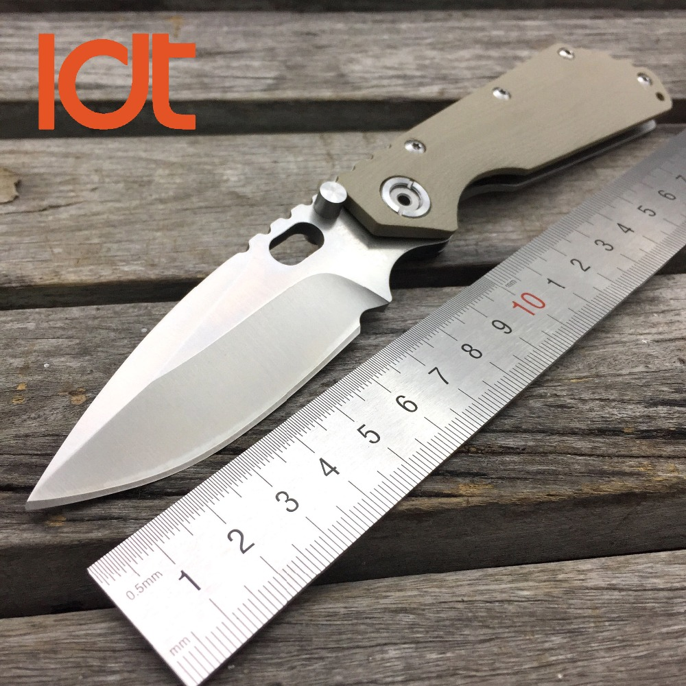цены LDT Ball Bearing Folding Knives 7Cr17Mov Blade G10 Handle Tactical Camping Knife Survival Pocket Hunting Knife EDC Outdoor Tools