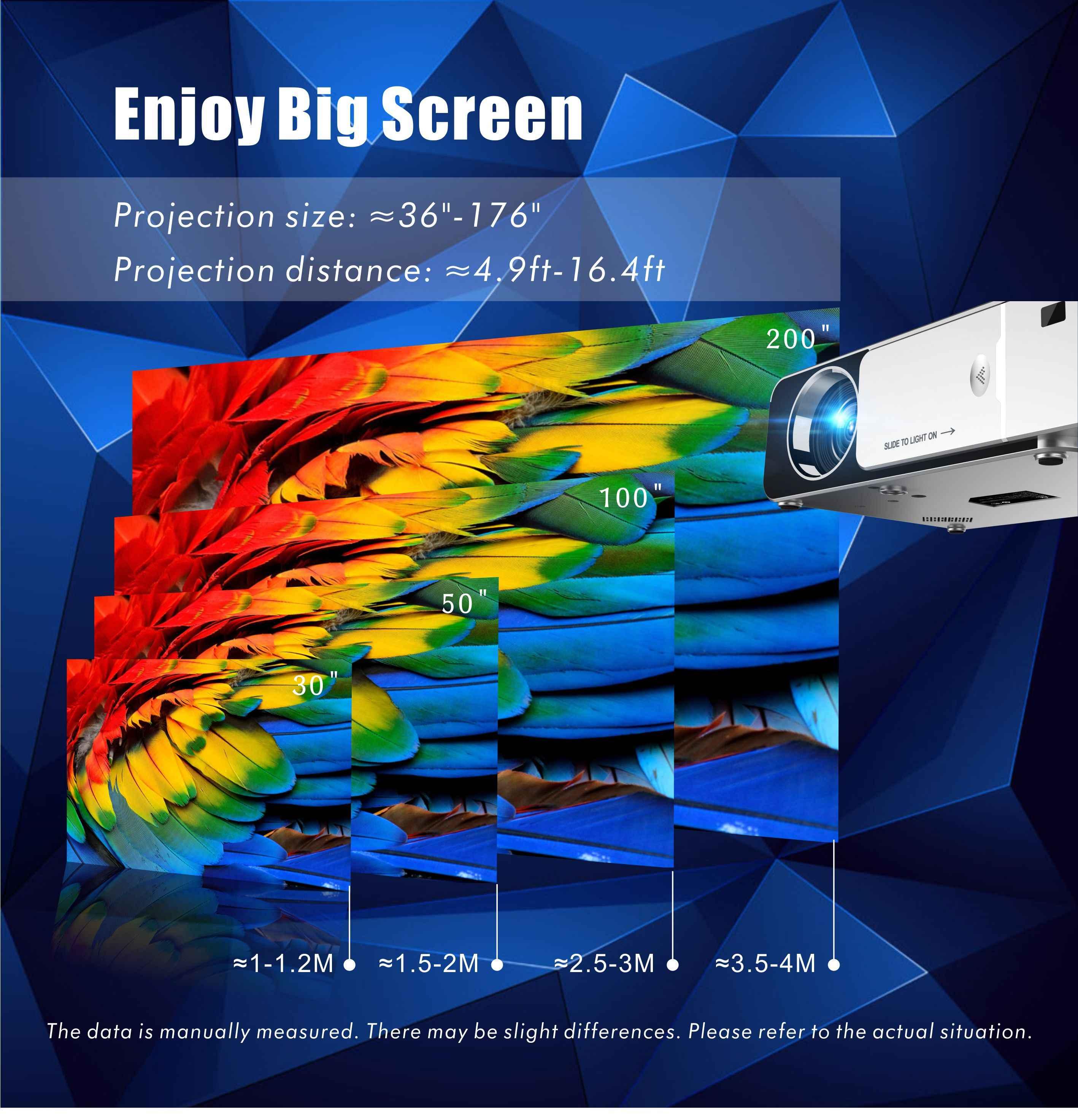 UNIC yeni T6 tam 1080P projektör 3500 lümen ev sineması Beamer desteği AirPlay DLNA Miracast Android WIFI isteğe bağlı projektör
