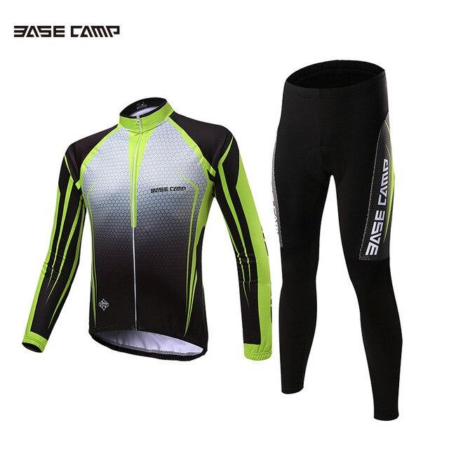2018 Basecamp primavera otoño pro equipo Camisetas de ciclismo ropa  ciclismo manga larga seco rápido MTB 447285419