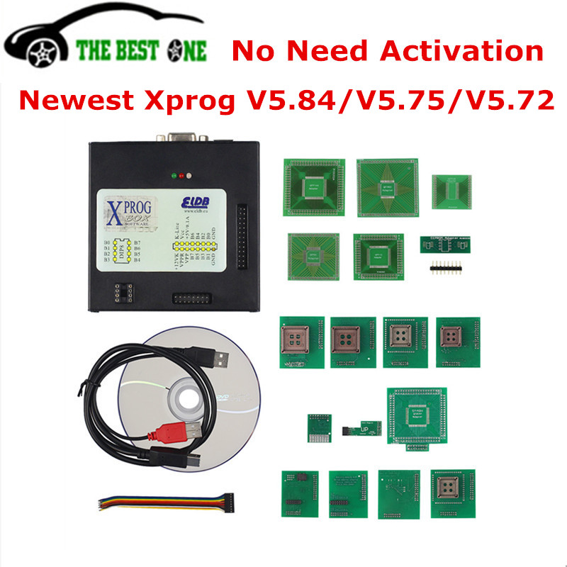 Brave New Eu Version Xprog V5.84 V5.75 V5.72 Ecu Programmer X Prog M Box Xprog-m 5.72 5.75 Eeprom Immo Dash Ecu Chip Tuning X-prog-m Interior Accessories