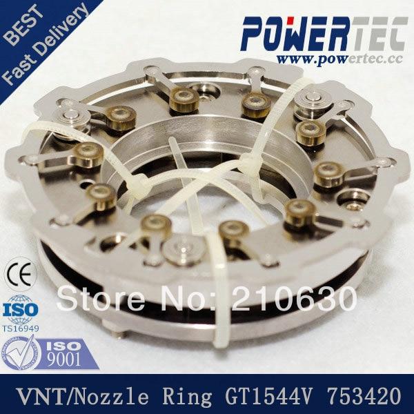 ФОТО Turbo nozzle ring GT1544V turbo VNT 753420 for Citroen Berlingo 1.6 HDi,109HP