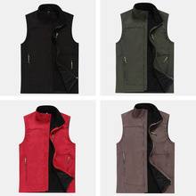 Men & Women Hiking Vest Outdoor Travel Sleeveless Jackets Softshell Waterproof Waistcoats Brand Ski Tech Fleece Clothing