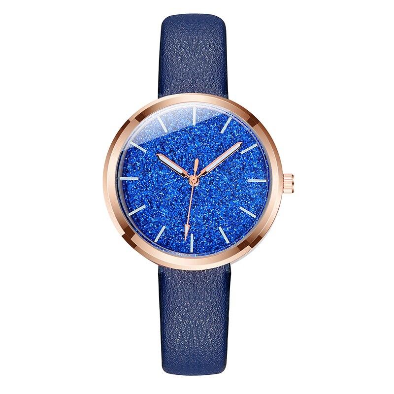 Reloj Mujer 2019 Flash powder Lady Analog Women Dress Watch Fashion Casual Girl Quartz Watch Women Wristwatches Relogio Feminino in Women 39 s Watches from Watches