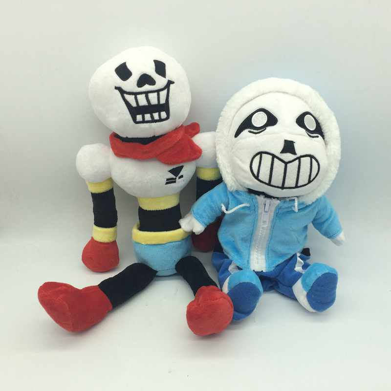 Undertale Sans Plush Slippers Anime Cartoon Unisex Home Slippers Soft Stuffed To