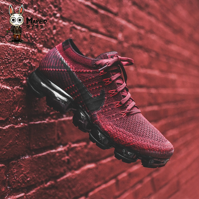NIKE Air VaporMax Flyknit Original Mens Running Shoes Stability Height Increasing Breathable Lightweight Sneakers For Men Shoes 5