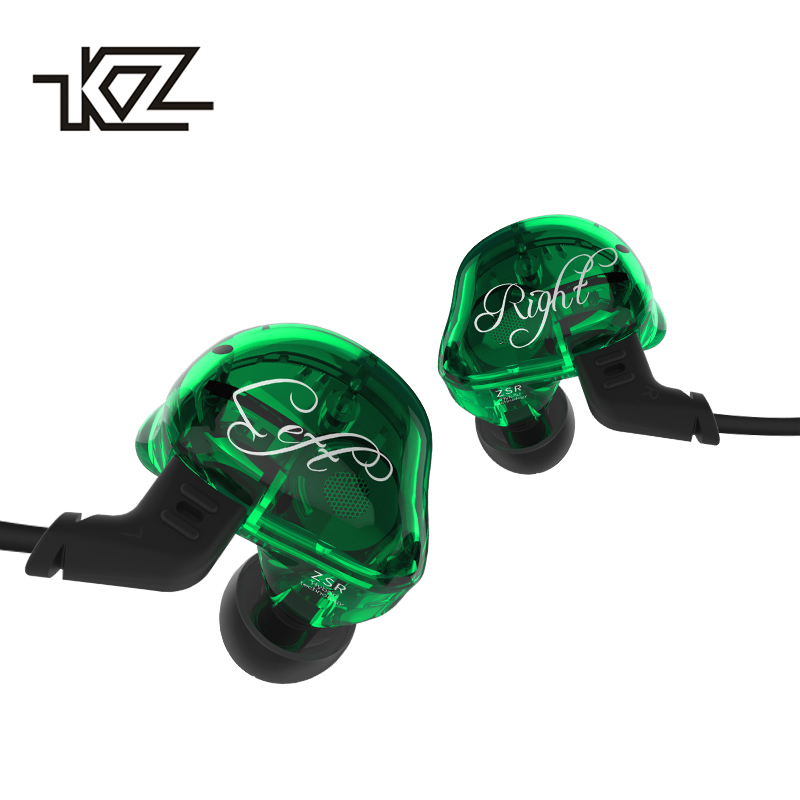 KZ ZSR Bluetooth Headphones Balanced Armature With Dynamic In-ear Earphone 2BA+1DD Unit Noise Cancel Headset Replacement Cable kz headset storage box suitable for original headphones as gift to the customer