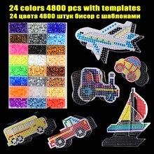 Paper Templates Perler Bead Hama-Beads Jigsaw Puzzle Pegboard Transparent-Shape Plastic