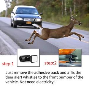 Image 3 - 1pcAnimal Deer Warning Alarm for fiat renault scenic 2 opel vectra c vw lupo chrysler 300c passat b5 panda golf 5 gti