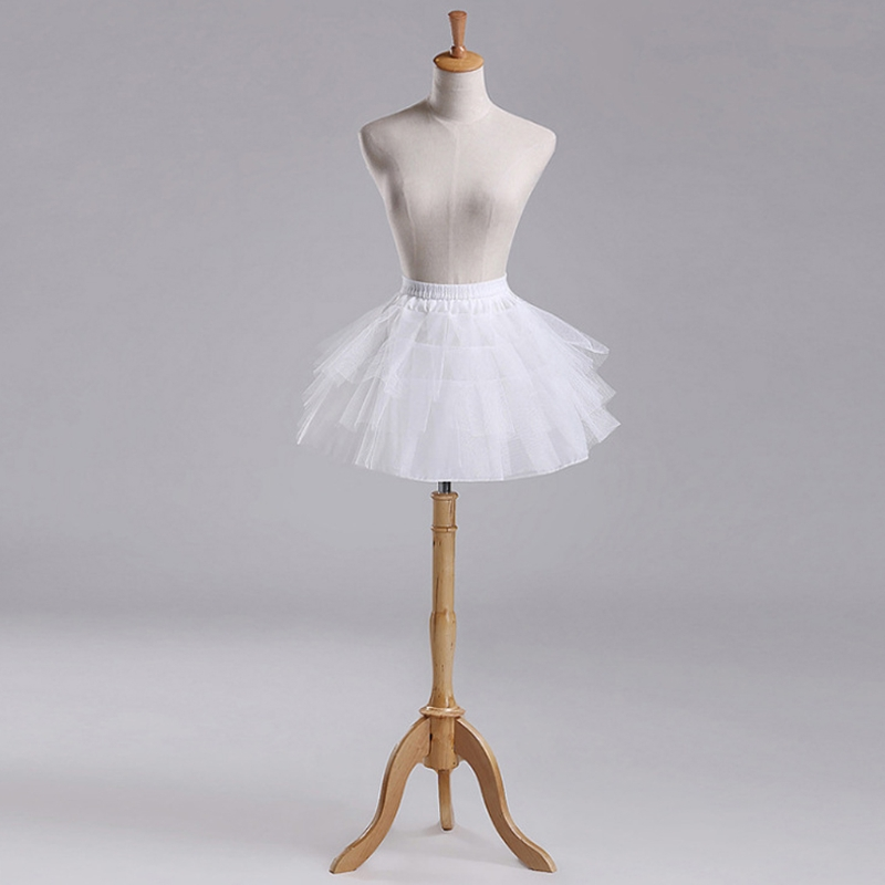 Free Shipping Free Shipping Women Girls Vintage Multilayer Pleated Petticoat Ballet Bubble Short Tutu Skirt