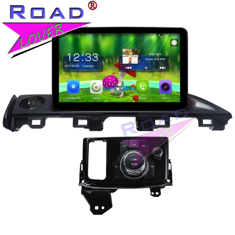 TOPNAVI Android 6.0 2G+32GB 9 Quad Core Car Multimedia Auido For Mazda Atenza 2017 Stereo GPS Navigation Player 2DIn MP4 NO DVD