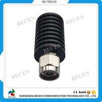 Terminación de carga/carga ficticia de 25 Vatios conector macho N DC-3GHz 50ohm