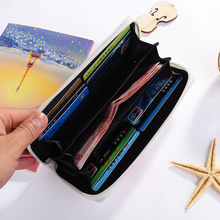 Modern Women Leather Clutch Wallet
