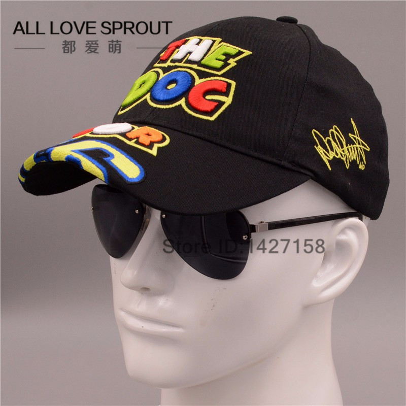 Rossi VR 46 Embroidery Baseball Caps Hats for men Motorcycle  MOTOGP Racing VR46 Cap vrfortysix Snapback gorras casquette bone 2016 new cotton sports rossi vr46 caps motogp racing motorcycle baseball cap car visors sun hats casquette