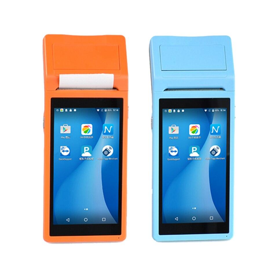 Machine de paiement androïde de terminal de paiement de téléphone portable tenu dans la main de prix bon marché