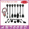 New Full Set 8 Car Cables Of Car For DS150 TCS CDP Pro Plus Cdp DS150E