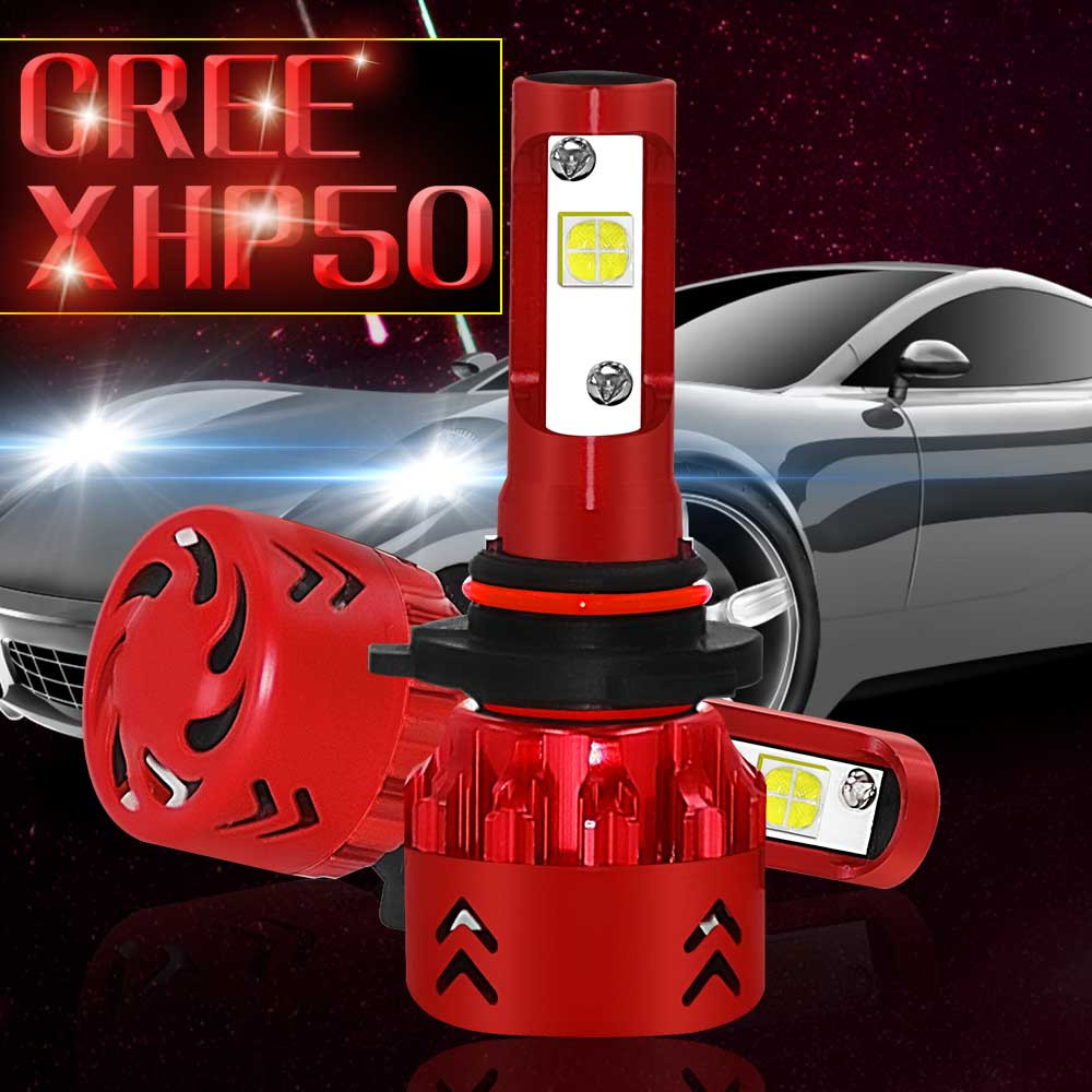 New 60w 9600lm Cob Led Headlight Conversion Kit Car Beam Bulb Driving Lamp Dc 9 32v  6000k White Light Led Driving Front 2019